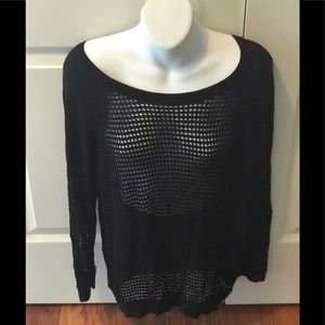 GUC, Express, black long sleeve sweater